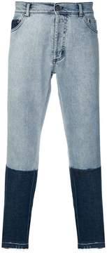 Christian Pellizzari two tone jeans