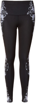 Alo Yoga High-Waist Airbrush Legging in Dark Krystal Black, Small