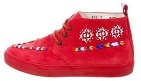 Del Toro Embellished Chukka Sneakers