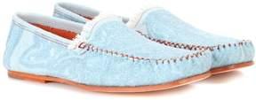 Acne Studios Jackson denim loafers