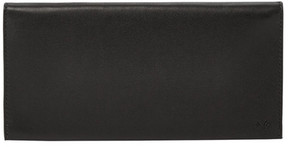 Skagen Farver Leather Flap Checkbook Wallet