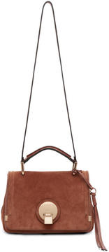 Chloé Brown Suede Small Indy Bag