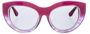 Cat Eye Dax Gabler Oversize Cat-Eye Sunglasses