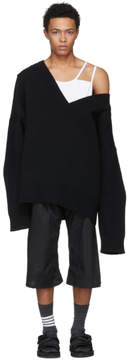 Raf Simons Black Classic Oversized Sweater