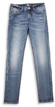 7 For All Mankind Girl's Skinny Denim Jeans