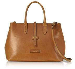 The Bridge Women's Brown Leather Handbag.