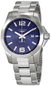Longines Conquest Automatic Blue Dial Men's Watch L37784966