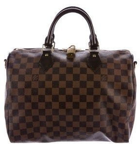 Louis Vuitton Damier Ebene Speedy Bandoulière 30 - BROWN - STYLE