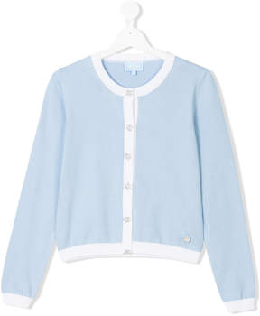 Lanvin Enfant TEEN embellished cardigan