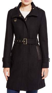 Cole Haan Wool Trench Coat