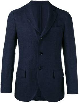 Piombo Mp Massimo three button blazer