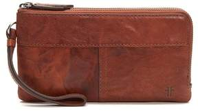 Frye Veronica Double Pouch Leather Wallet