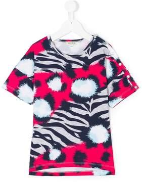 Kenzo tiger striped T-shirt