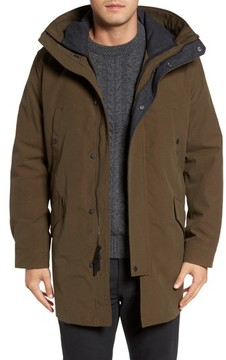 Cole Haan Men's Water Repellent 3-In-1 Utility Jacket