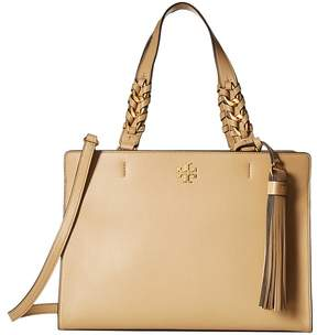 Tory Burch Brooke Satchel Satchel Handbags - SAVANNAH - STYLE