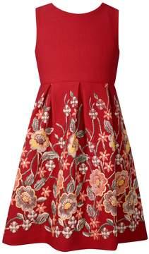 Bonnie Jean Girls 7-16 Sleeveless Open Back Pleated Dress