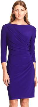 Chaps Women's Draped Sheath Dress