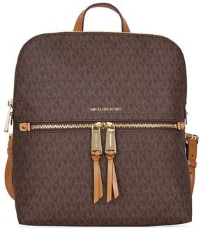Michael Kors Rhea Medium Slim Backpack - Brown - ONE COLOR - STYLE