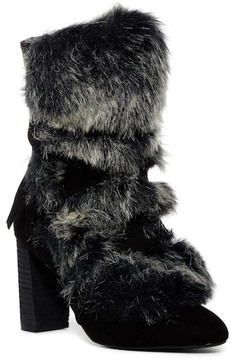 Charles by Charles David Alberta Faux Fur Belted Bootie