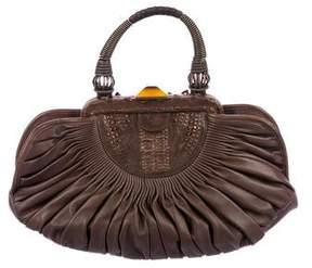 Christian Dior Plissé Frame Bag