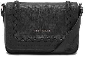 Ted Baker Interlocking Detail Leather Crossbody Bag