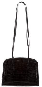 Judith Leiber Alligator Shoulder Bag