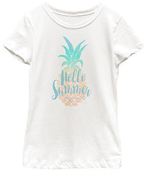 Fifth Sun White 'Hello Summer' Tee - Girls