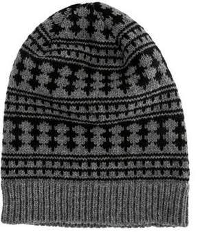 Saint Laurent Knit Printed Beanie