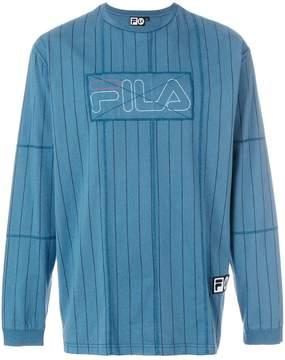 Fila Liam Hodges x logo patch sweatshirt