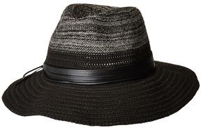 Scala Two-Tone Knit Safari Caps