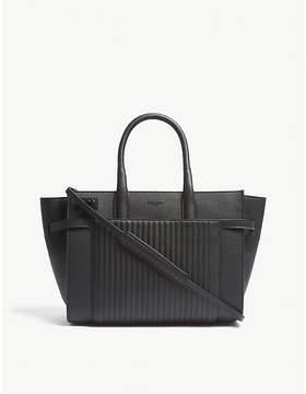 Zadig & Voltaire Noir Black Candide Leather Handbag
