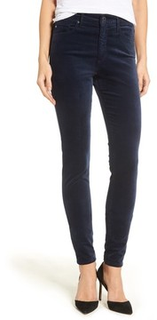 AG Jeans Women's The Farrah High Waist Velvet Jeans