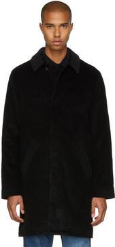 A.P.C. Black Corduroy Portobello Coat