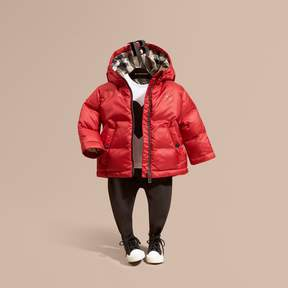 Burberry Hooded Down-filled Puffer Coat