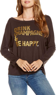 Chaser Drink Champagne Long-Sleeve Tee