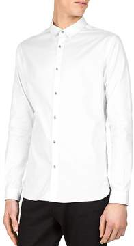 The Kooples New Pique Slim Fit Button-Down Shirt