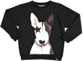 Molo Dog Printed Cotton Jersey T-Shirt