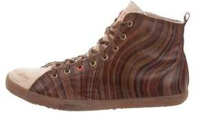 Paul Smith Urban High-Top Sneakers
