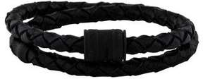 Miansai Leather Double Wrap Bracelet