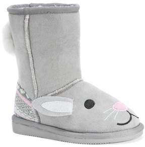 Muk Luks Faux Fur Lined Boot (Toddler & Little Kid)