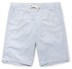 Oliver Spencer Loungewear Striped Cotton Pyjama Shorts