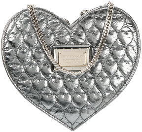 Philipp Plein heart quilted crossbody bag