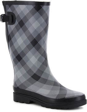 Western Chief Dual Buffalo Womens Waterproof Rain Boots