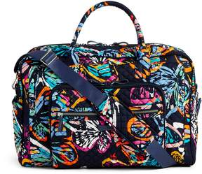Vera Bradley Iconic Weekender Travel Bag - PAISLEY STRIPES - STYLE