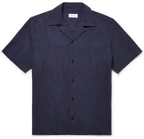 Saturdays NYC Camp-Collar Cotton-Poplin Shirt