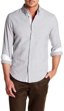 Rag & Bone Tomlin Long Sleeve Slim Fit Shirt
