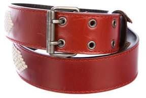 Saint Laurent 2002 Leather Belt