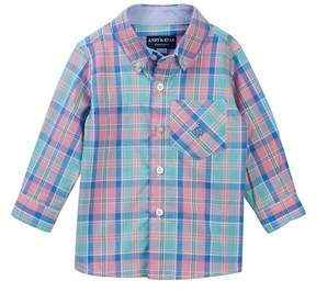 Andy & Evan Pastel Plaid Shirt (Baby Boys)