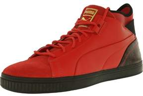Puma Men's Play Wine And Dine High Risk Red Black High-Top Basketball Shoe - 8.5M