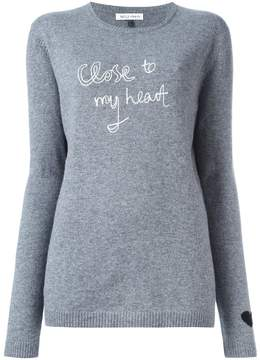 Bella Freud heart detail jumper